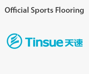 Official Sports Flooring Supplier