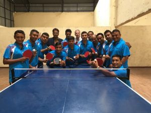 Members of the ITTF/PTT Level Two Coaches Course
