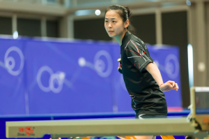 Zhang Mo, the highest ranked woman at the North American Team Championship.