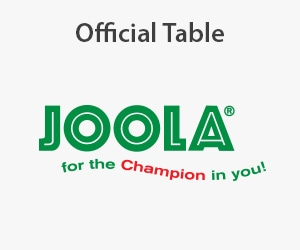 Joola official table