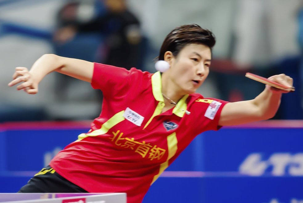 Ding Ning in the 2016 Chinese Super League. (Photo from China Visual)