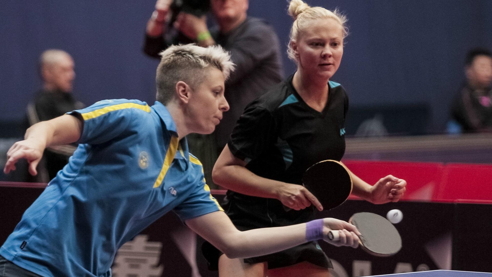 Matilda Ekholm and Georgina Pota