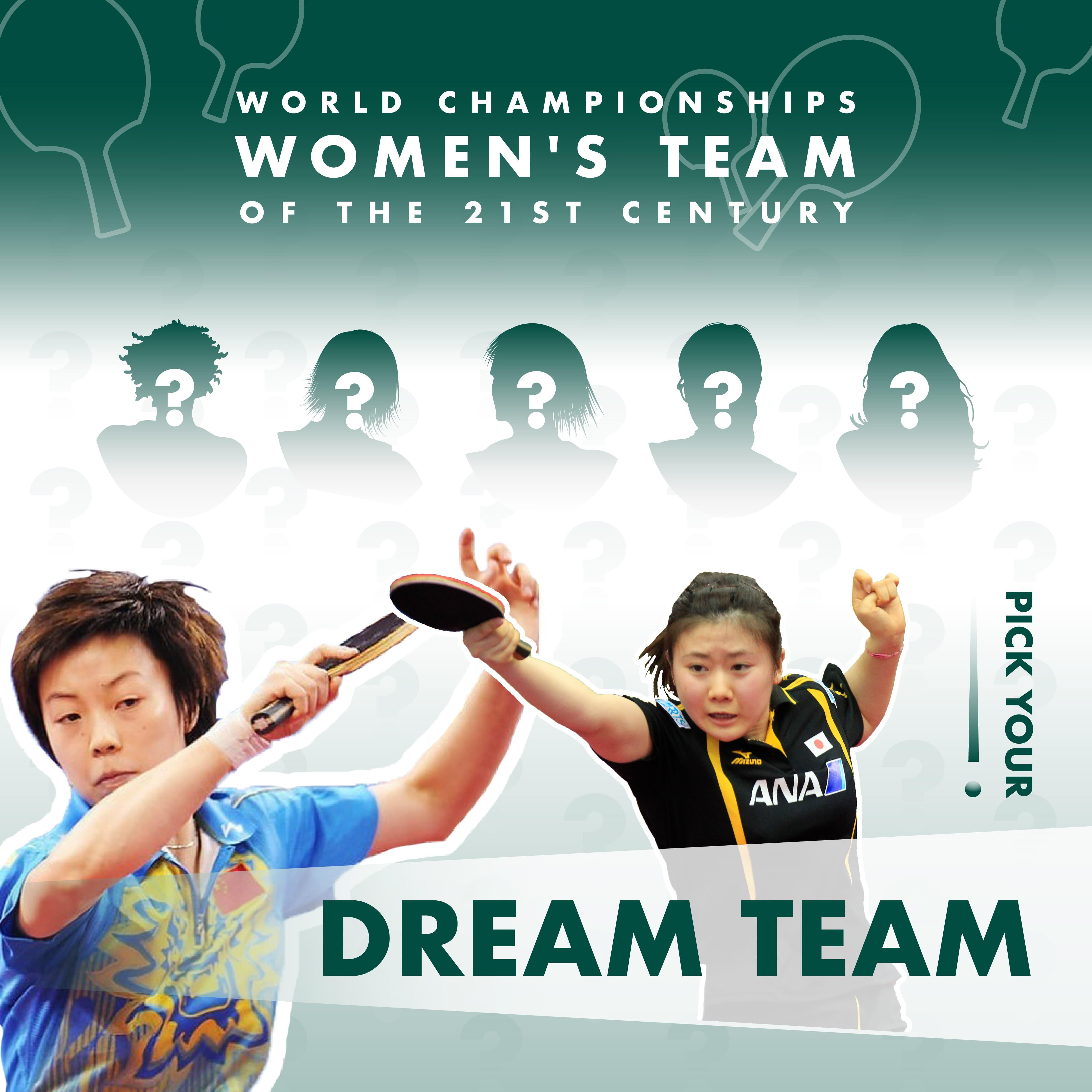 Pick your Dream Women's Team of the 21st Century!