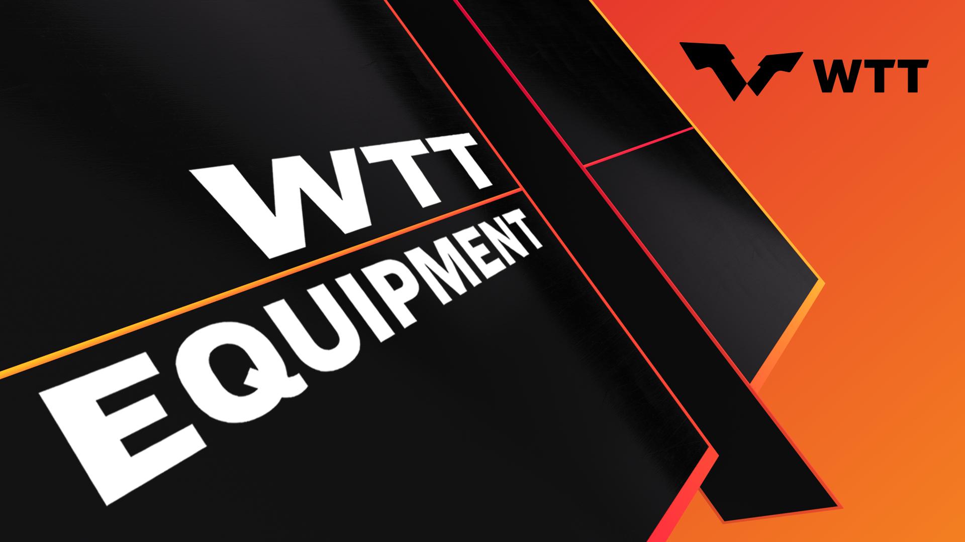 Become a WTT Equipment Partner!