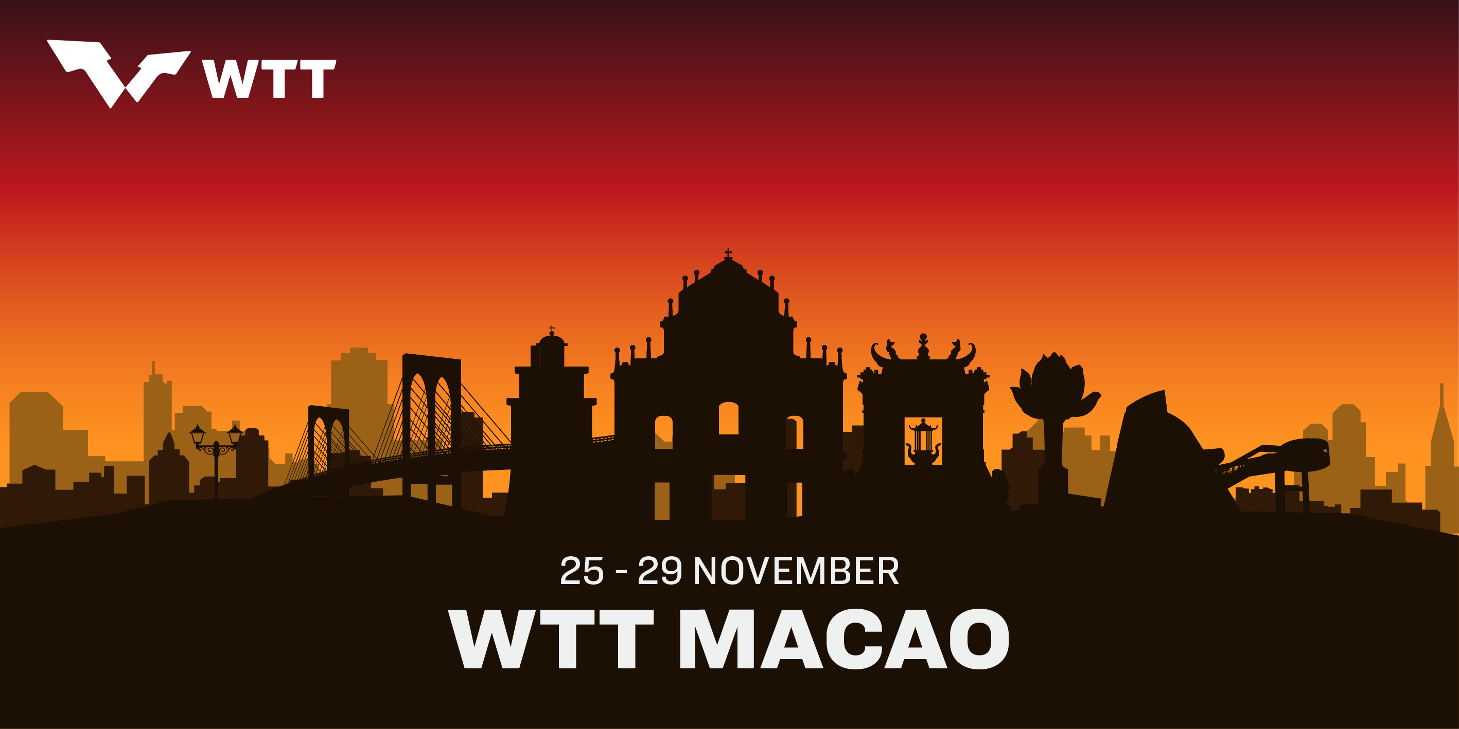 32 Stars lined up for WTT Macao!